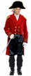 Adult Red Coat British Captain Costume