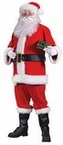 Adult Red Santa Claus Suit
