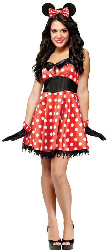 Adult Retro Miss Mouse Costume - Candy Apple Costumes ...