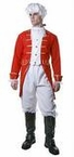 Adult Revolutionary War Red Coat or Toy Soldier Costume