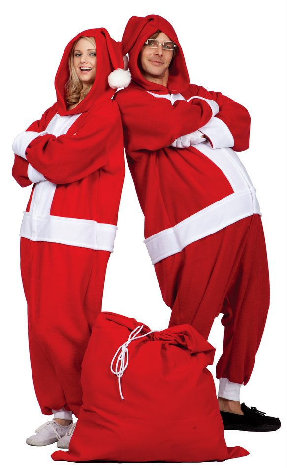 521958263c Adult Santa Suit Funsies Costume - Candy Apple Costumes - Funny Costumes