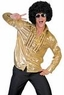 Adult Saturday Night Gold Disco Shirt