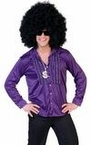 Adult Saturday Night Purple Disco Shirt