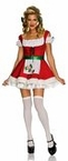 Adult Sexy Christmas Candy Cane Costume
