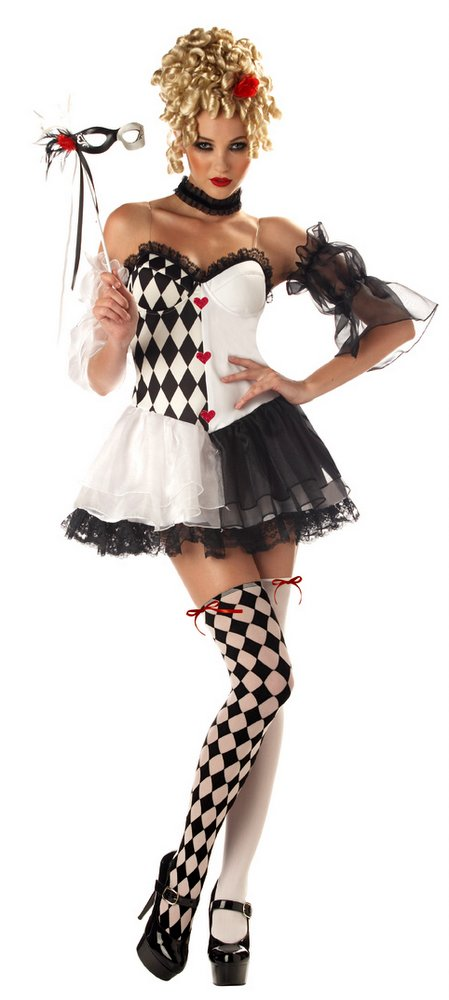 harlequin costume belle Le adult