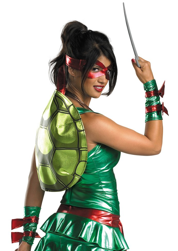 ... Adult Sexy Teenage Mutant Ninja Turtles Raphael Costume ...  sc 1 st  Candy Apple Costumes & Adult Sexy Teenage Mutant Ninja Turtles Raphael Costume - Candy ...