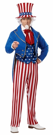 Adult Star-Spangled Uncle Sam Costume