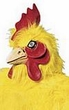 Adult Supreme Chicken Mask - Yellow or White