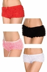 Adult Tanga Ruffle Shorts