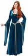 Adult Teal Lady Guinevere Renaissance Costume