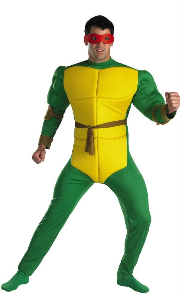 Adult ninja turtle costume were