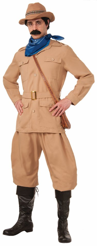 Adult Theodore Roosevelt Costume - Standard and Plus  sc 1 st  Candy Apple Costumes & Adult Theodore Roosevelt Costume - Standard and Plus Sizes - Deluxe ...