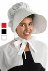 Adult Cloth Colonial Bonnet - More Colors