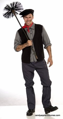 Adult Victorian Chimney Sweep Costume
