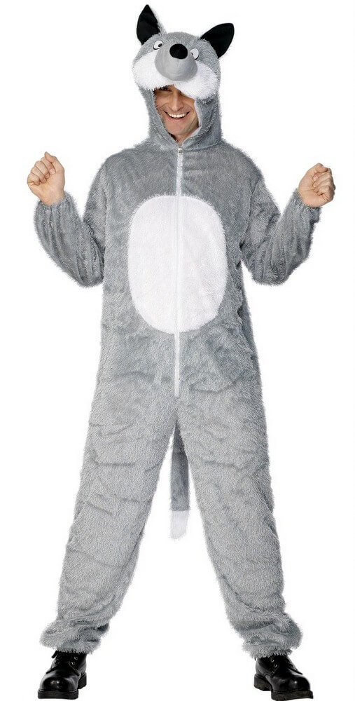 Adult Wolf Costume  sc 1 st  Candy Apple Costumes & Adult Wolf Costume - Candy Apple Costumes - Funny Costumes