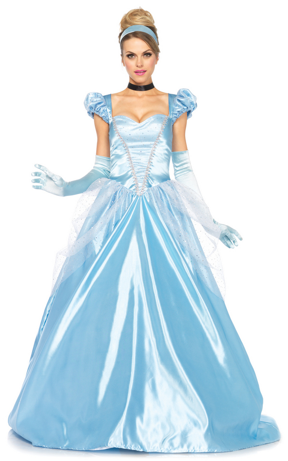 Adult Womenu0027s Classic Cinderella Costume  sc 1 st  Candy Apple Costumes & Adult Womenu0027s Classic Cinderella - Candy Apple Costumes - Deluxe ...