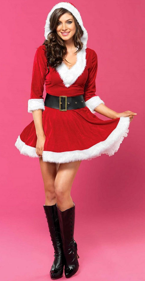 b77a721d332 Adult Women's Mrs Claus Costume