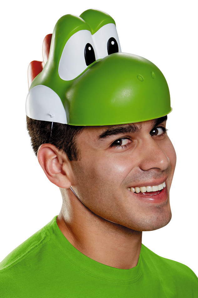 Adult World of Nintendo Yoshi Mask  sc 1 st  Candy Apple Costumes & Adult World of Nintendo Yoshi Mask - Super Mario Brothers Costumes ...