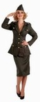 Adult WWII Army Gal Costume