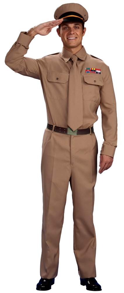 Adult WWII General Costume  sc 1 st  Candy Apple Costumes & Adult WWII General Costume - Candy Apple Costumes - Presidentu0027s Day ...