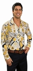 Adult Yellow Groovy 70's Shirt