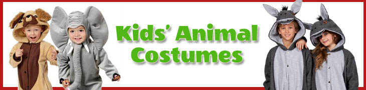 Kids' Animal Costumes