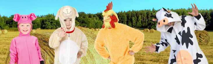 Barnyard Animal Costumes