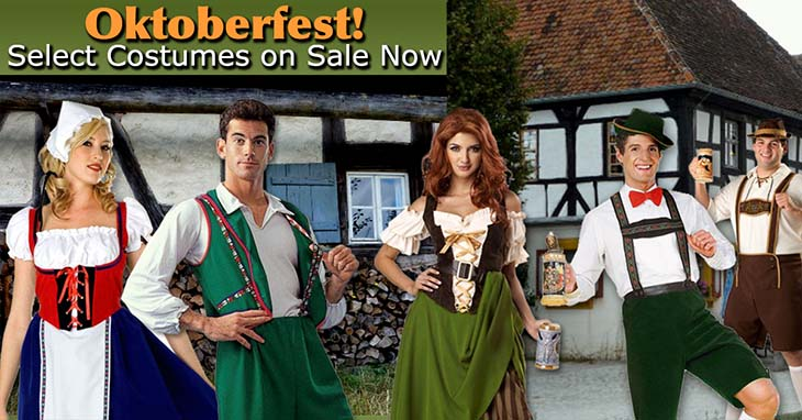 482b7db9d German Lederhosen Costumes for Adults and Kids