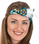 Beaded Hippie Headband