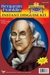 Benjamin Franklin Wig and Glasses Kit