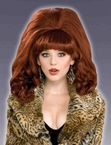 Big Red Bouffant Wig