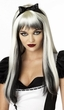 Black/Blonde Streaked Enchanted Tresses Wig