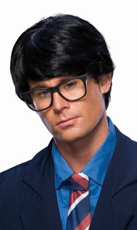 black mens character wig candy apple costumes mens wigs
