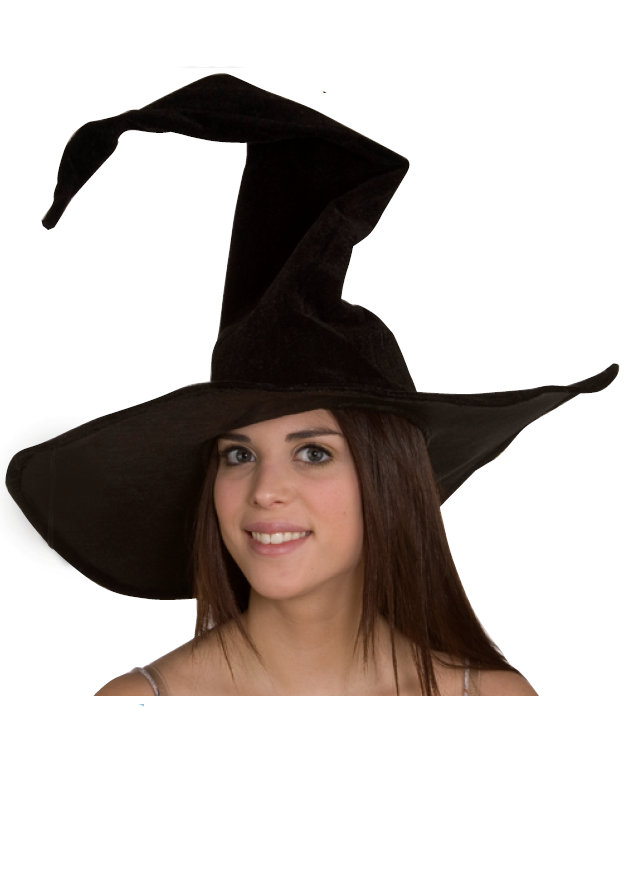 9d80a46a8ff Black Velvet Witch Hat - Candy Apple Costumes - Gothic   Scary
