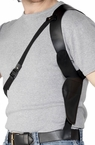 Black Vinyl Shoulder Holster