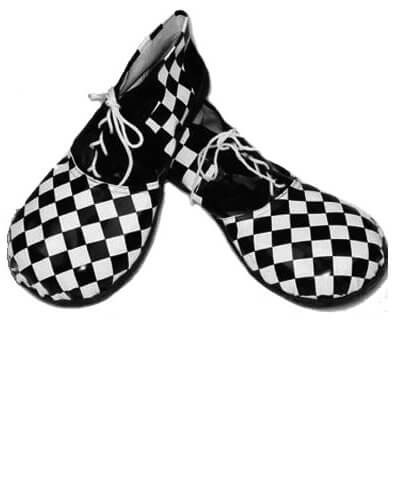 Black Vinyl Clown Shoes