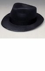 Blues Brothers Black Felt Fedora