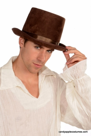 Brown Top Hat