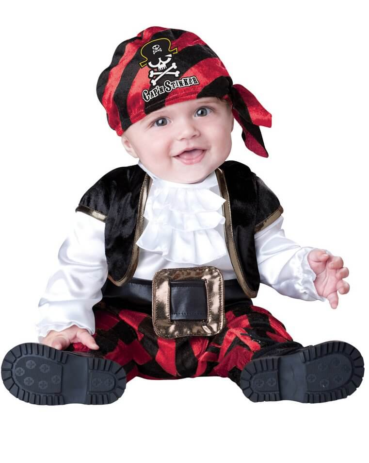 5500277c579d Cap n Stinker Infant Toddler Pirate Costume - Pirate Costumes