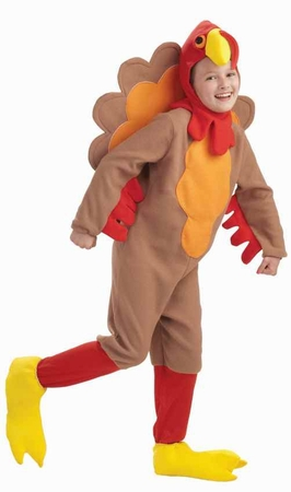 Child Fleece Turkey Costume