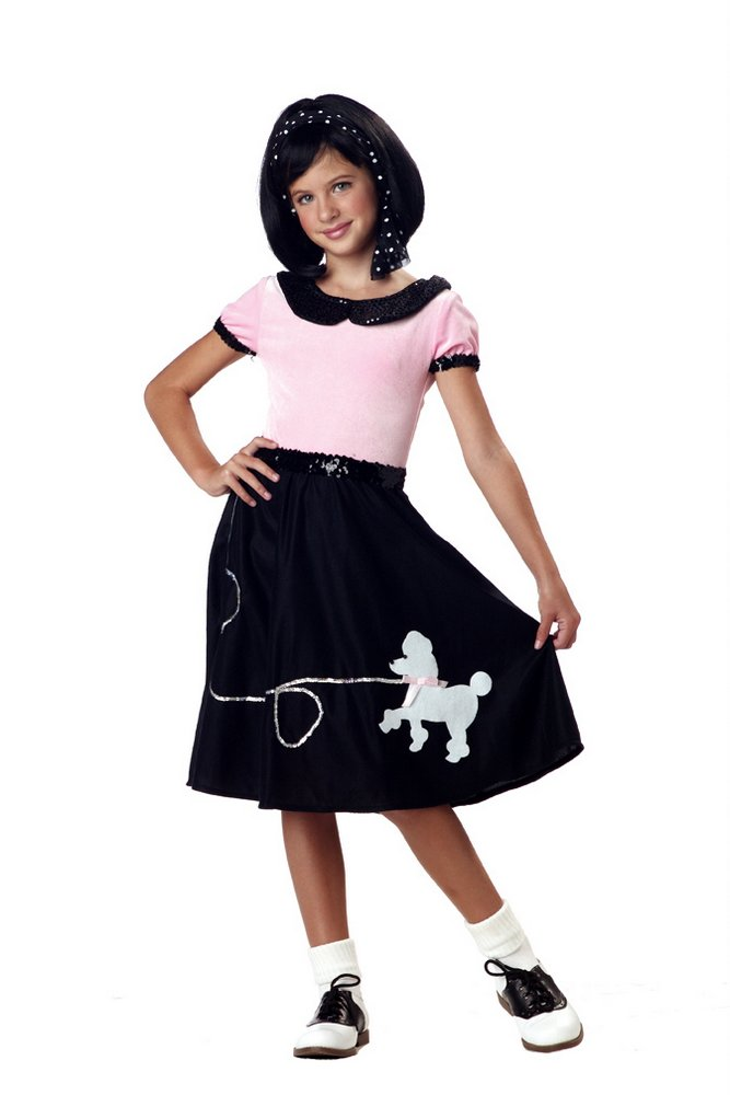 ee3d387a4c1d Child's Sock Hop Costume - Candy Apple Costumes - 50's Costumes