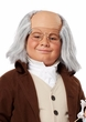 Child's Benjamin Franklin Wig