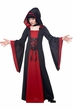 Child's Black/Red Hooded Robe Costume