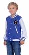 Child's Blue Letterman Jacket Costume