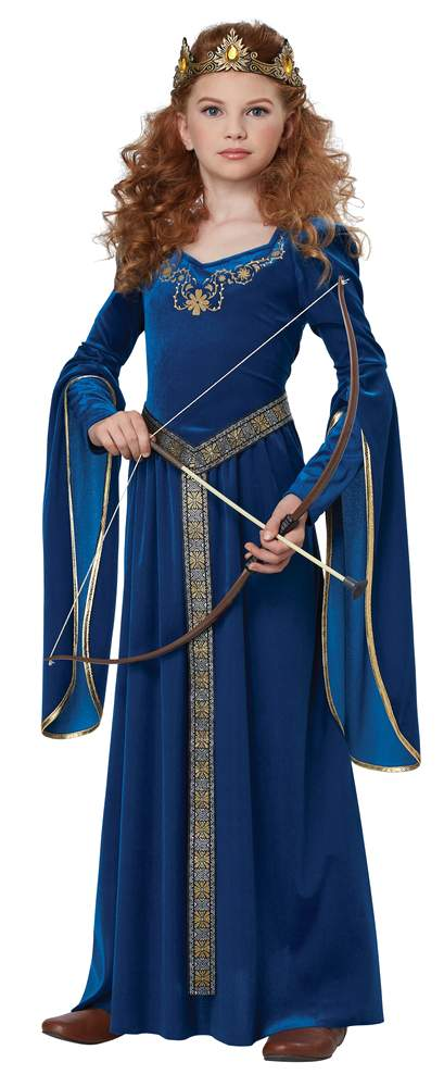 Childu0027s Blue Medieval Princess Costume Childu0027s Blue Medieval Princess Costume ...  sc 1 st  Candy Apple Costumes & Childu0027s Blue Medieval Princess Costume - Candy Apple Costumes ...