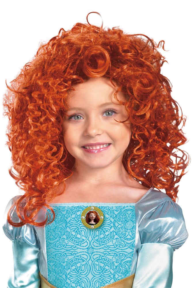 Child s Brave Merida Curly Red Wig - Disney Costumes 8d2b047a3663