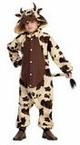 Child's Brown Spotted Cow Funsies Costume