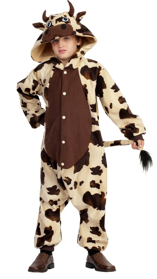 Childu0027s Brown Spotted Cow Funsies Costume  sc 1 st  Candy Apple Costumes & Childu0027s Bull Funsies Costume - Candy Apple Costumes - Christmas ...