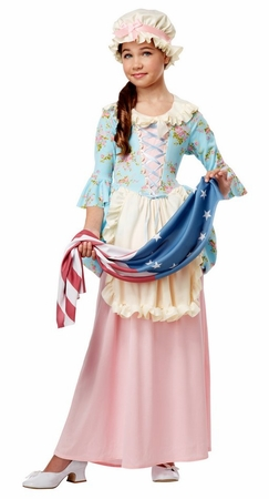 Child's Colonial Lady or Betsy Ross Costume