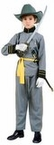 Child's Southern Officer Civil War Costume